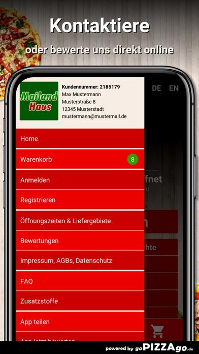 Mailand Haus Wiesbaden screenshot 3