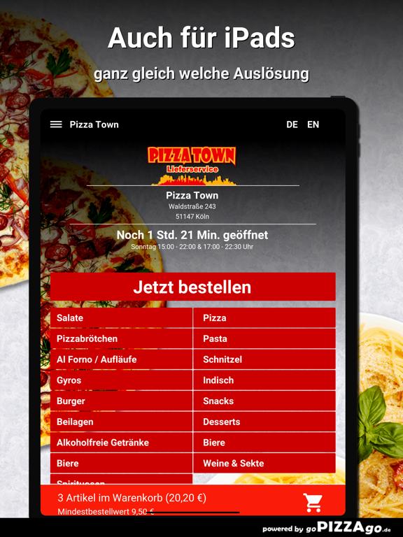 Pizza Town Köln screenshot 7