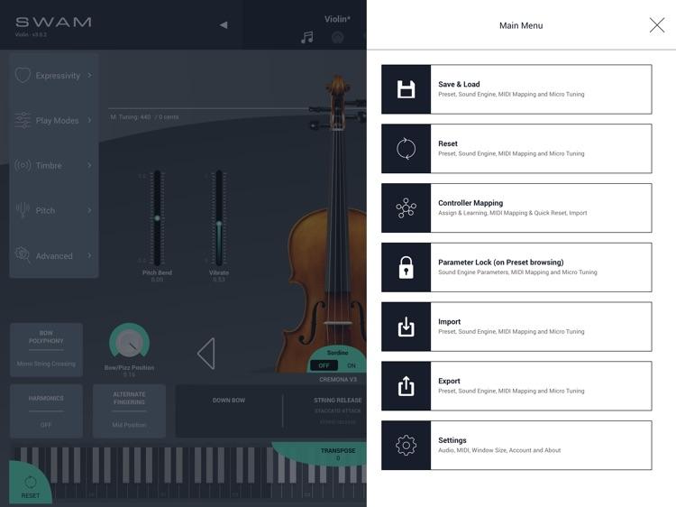 SWAM Violin screenshot-6