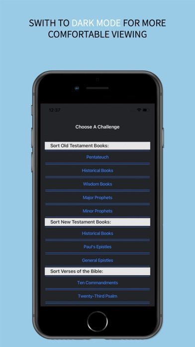 the BibleOrder App screenshot 7