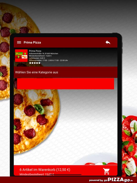 Prima Pizza München screenshot 8