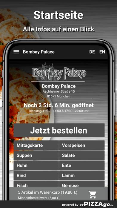 Bombay Palace München screenshot 2