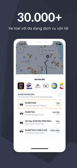 Emddi - Ứng dụng gọi xe Việt
