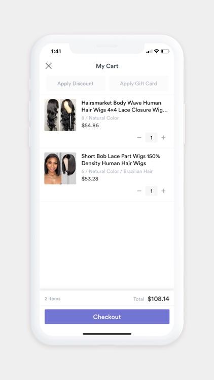 Hairsmarket screenshot-3