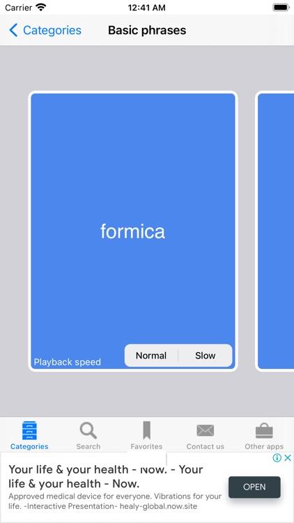 English to Italian Phrasebook screenshot-5