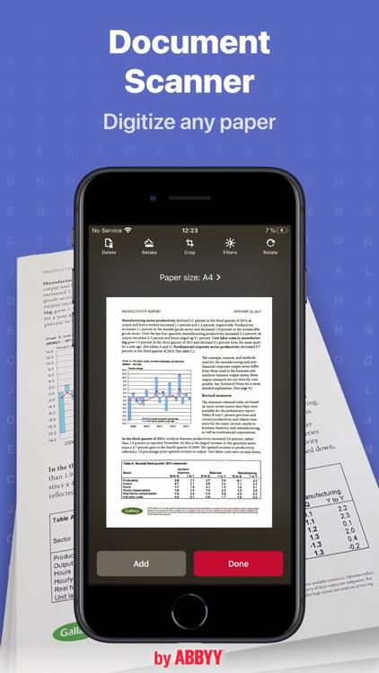 FineReader: PDF Scanner App screenshot-0