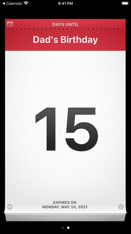 Countdown Me screenshot-5