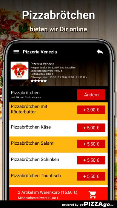 Pizzeria Venezia Bad Salzuflen screenshot 5