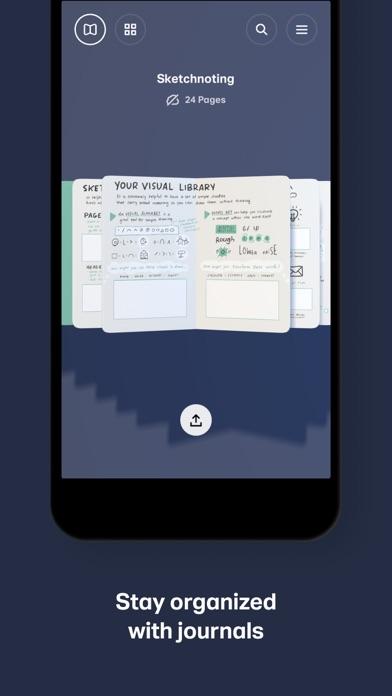 Paper, un carnet à croquis sur iPad-capture-4