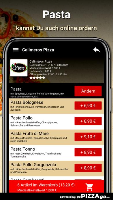 Calimeros Pizza Hildesheim screenshot 5