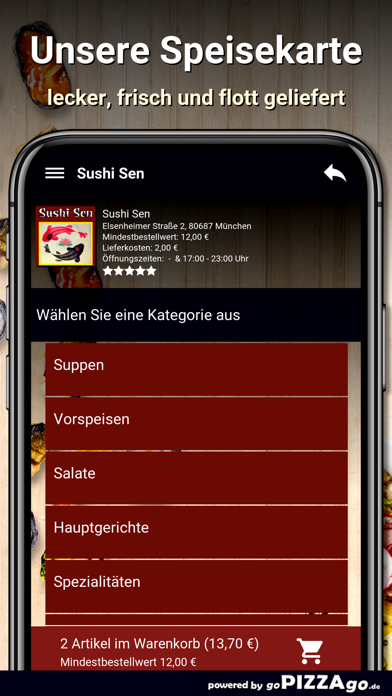Sushi Sen München screenshot 5