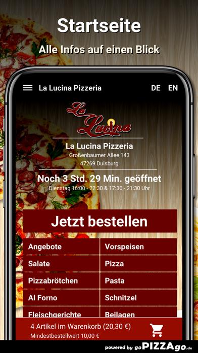 La Lucina Pizzeria Duisburg screenshot 3