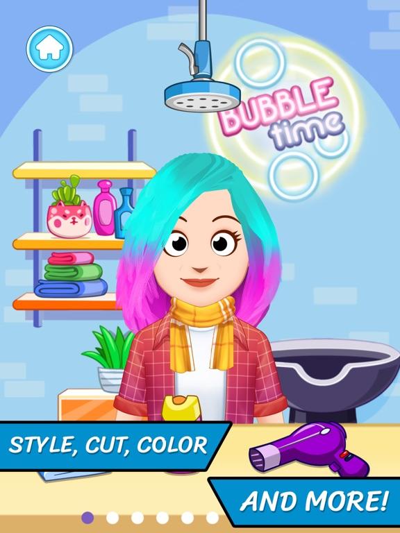 Hair Salon Hairstylist game screenshot 6