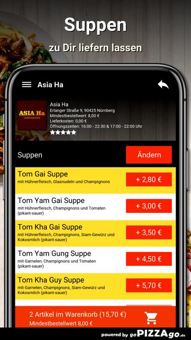 Asia Ha Nürnberg screenshot 5