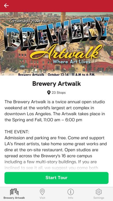 Brewery Artwalk App screenshot 2