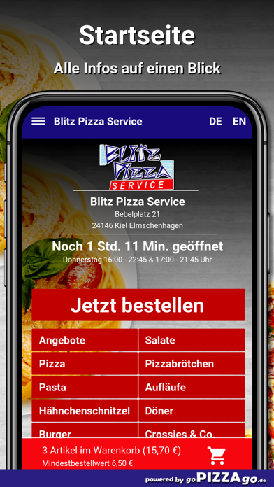 Blitz Pizza Kiel Elmschenhagen screenshot 2