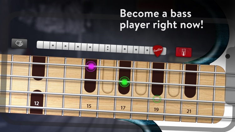 REAL BASS Electric bass guitar screenshot-3