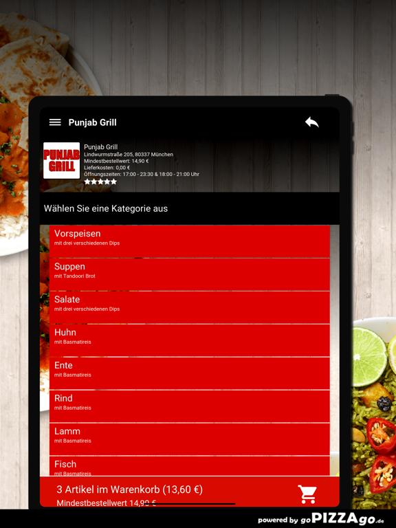 Punjab Grill München screenshot 8