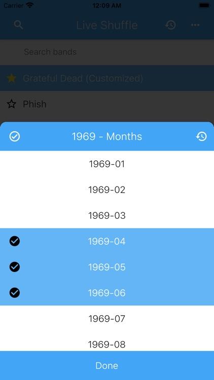Live Shuffle screenshot-4