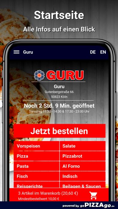 Guru Köln screenshot 2
