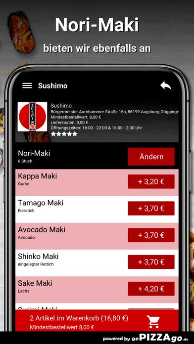 Sushimo Augsburg Göggingen screenshot 6