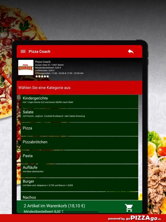 Pizza Coach Berlin screenshot 8