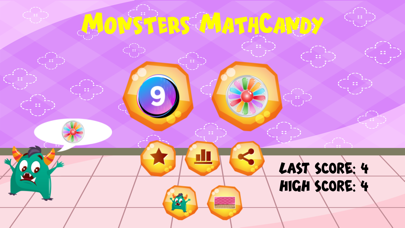 Monsters MathCandy screenshot 2