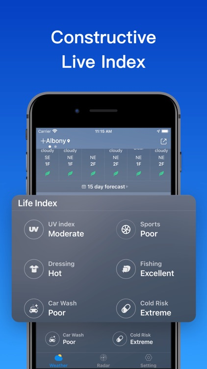 Weatherٞ  Forecast screenshot-5