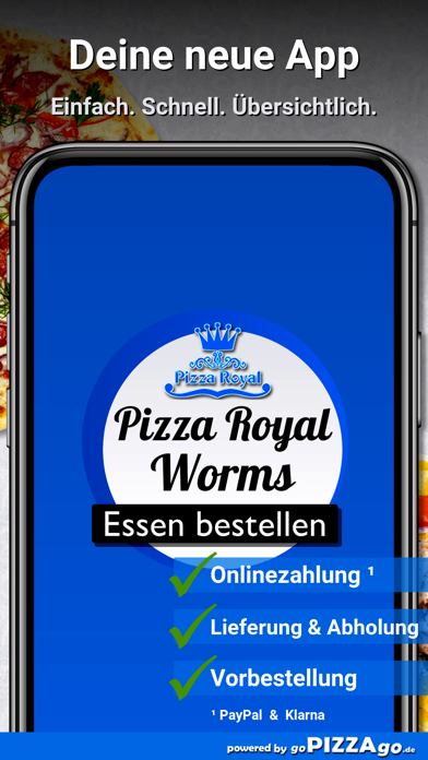 Pizza Royal Heimservice Worms screenshot 1