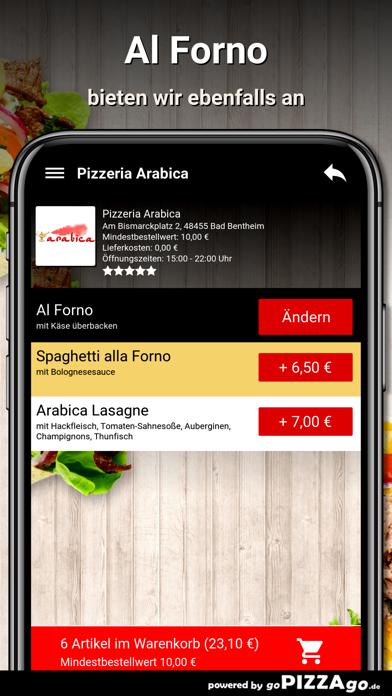 Pizzeria Arabica Bad Bentheim screenshot 6
