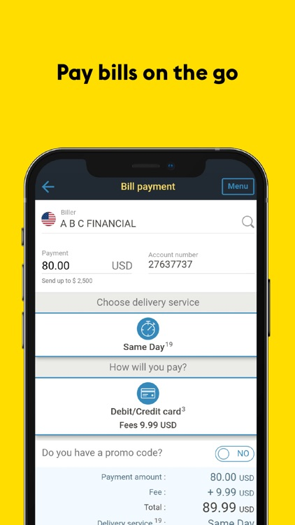 Western Union®: Money Transfer screenshot-5