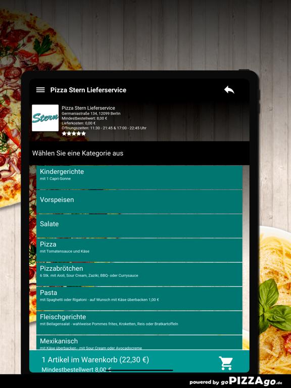 Pizza Stern Berlin screenshot 8