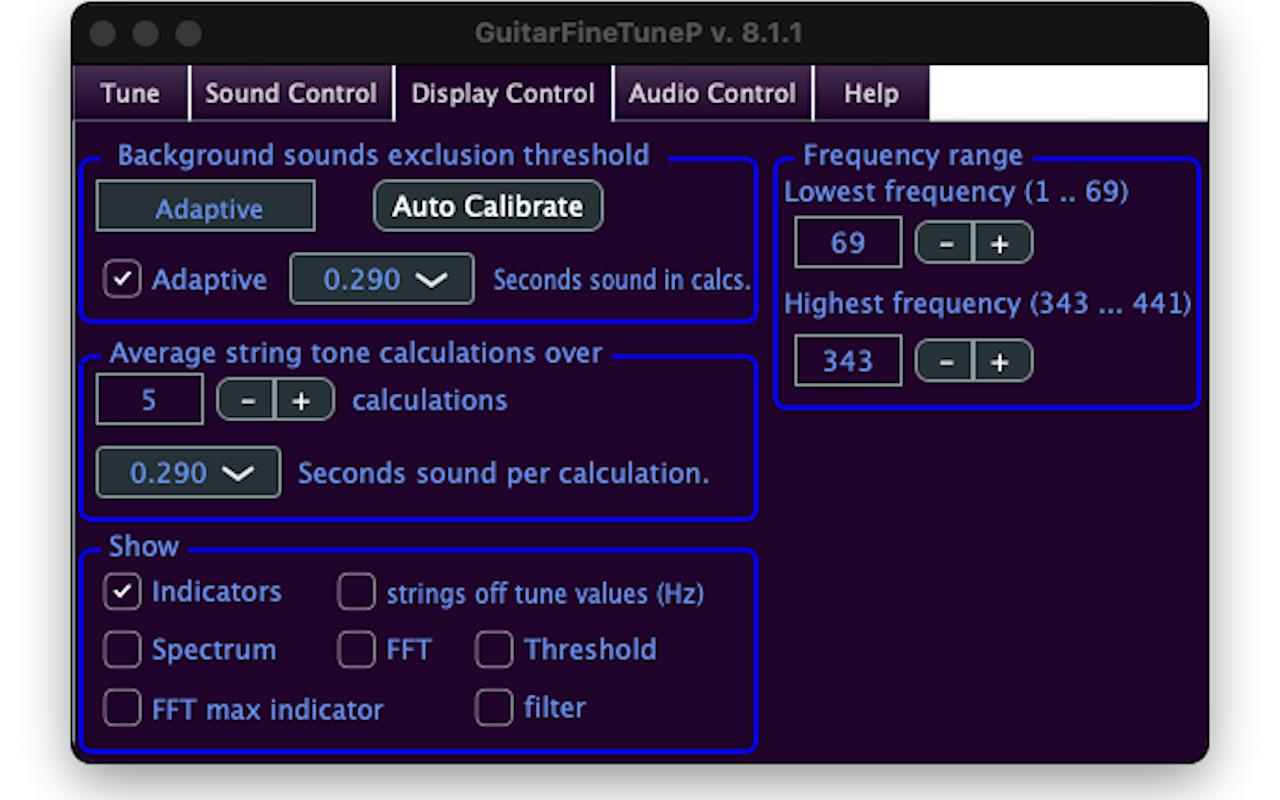 GuitarFineTune 8.6.4 Mac 破解版 吉他调整软件