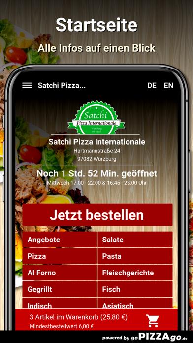 Satchi Pizza Würzburg screenshot 2
