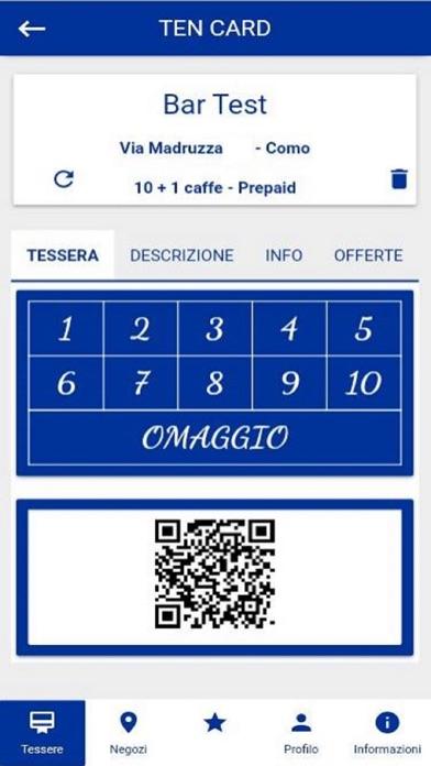 TenCard screenshot 1