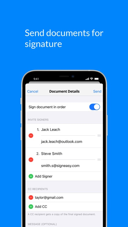 SignEasy - Sign and Fill Docs screenshot-4