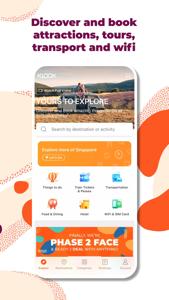 KLOOK客路旅行 - 自由行全球玩乐必备神器 App 视频