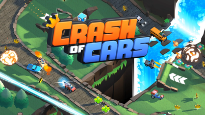 疯狂撞车王 (Crash of Cars) App 视频