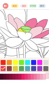 涂色花园—涂鸦减压休闲小游戏 App 视频