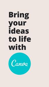 Canva 可画: 海报、Logo作图和视频编辑工具 App 视频