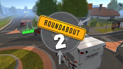 Roundabout 2: City Driving Sim App 视频