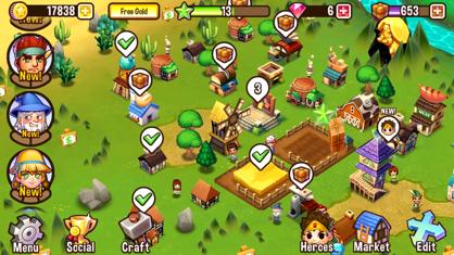 冒险小镇 (Adventure Town) App 视频