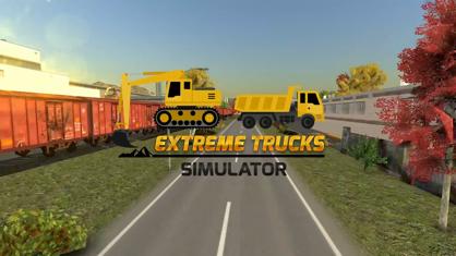 Extreme Trucks Simulator App 视频