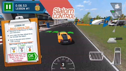 Race Driving School Car Racing Driver License Test App 视频