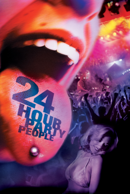 Michael Winterbottom - 24 Hour Party People  artwork