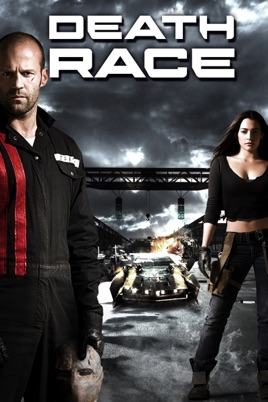 Poster of Death Race 2008 Full Hindi Dual Audio Movie Download BluRay 720p