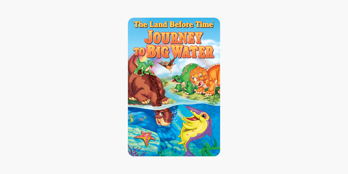 the land before time ix journey to big water trailer