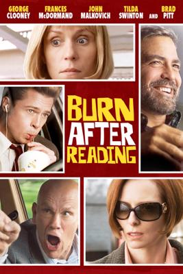 Joel Coen & Ethan Coen - Burn After Reading  artwork