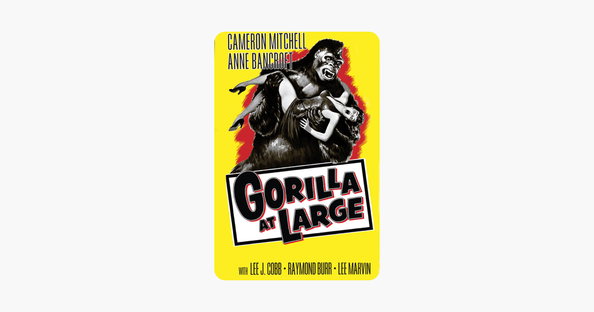 gorilla at large 1954 full movie