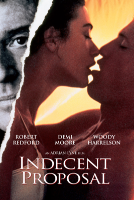 Adrian Lyne - Indecent Proposal  artwork